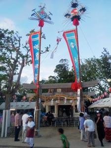 大川村豊年祭オンプール
